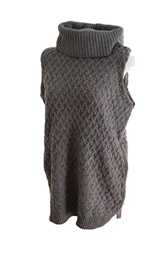 Adrienne Vittadini Turtleneck Vest Sweater Large by ADRIENNE VITTADINI