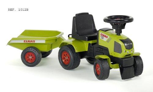 Falquet & Ciet 1012B - Claas Traktorrutscher mit Anhänger