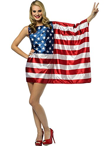 Rasta Imposta Flag USA Dress Red/White/Blue, Women's Size 4 - 10