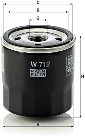 Original Mann Filter Ölfilter W 712 Entlüftungs Hydraulikfilter Für Pkw Und Nutzfahrzeuge Auto
