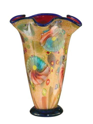 Favrile Vase (Dale Tiffany Coast Sand Favrile)