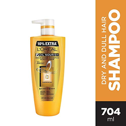 L'Oreal Paris Hex 6 Oil Shampoo, 640 ML