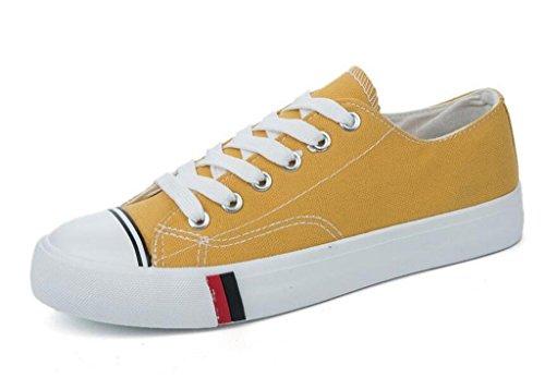 Dark Scuola Studenti 1003cm0356cm 36 Daily Xie Colori Lady Quattro Shopping Shoes Flat Libero Tempo Green Canvas Confortevole Bottom 38 zf6fAq8x