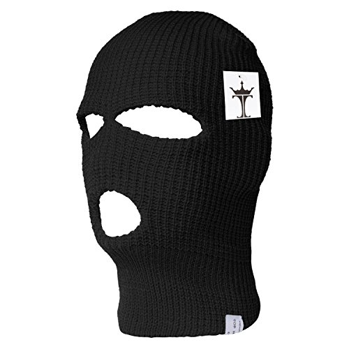 TOP HEADWEAR TopHeadwear 3 Hole Ski Face Mask Balaclava