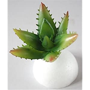 Windse Mini Artificial Succulents Plants Fake Succulent Bonsai Plastic Succulent Flower Land Lotus Rare For Garden Home Office Decor 8 8