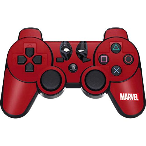 Skinit Deadpool PS3 Dual Shock wireless controller Skin - Deadpool Eyes | Marvel - Game Ps3 Deadpool