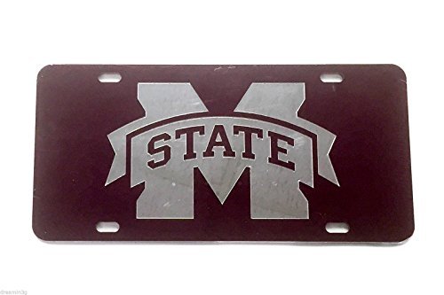 Mississippi State University License Plate Frame/Tag For Front Back of Car Officially Licensed (Car Tag - - New Orleans Veterans Ford