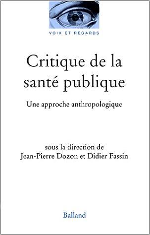 Critique santé publique