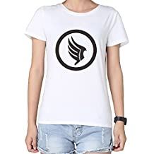 Mass Effect Video Game Wallpapers Woman's 100% Cotton T-shirt White