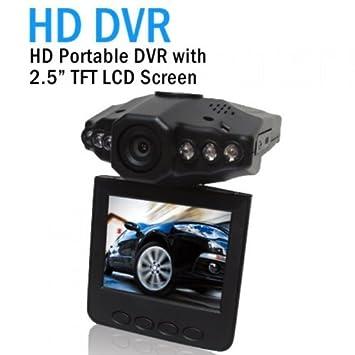 2,5 pulgadas de coches HD DVR vehículo 6LED Cámara de Video Grabador de Tráfico
