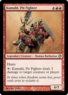 Magic: the Gathering - Kamahl, Pit Fighter - Duel Decks: Heroes vs Monsters