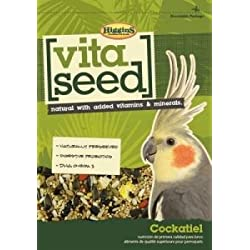Higgins 466155 Vita Seed Cockatiel Food For Birds, 25-Pound