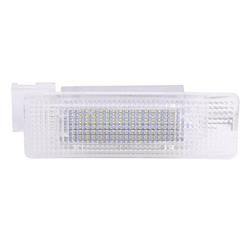 Qiilu White LED Luggage Lamp Trunk Compartment Interior Light for Volkswagen Golf Jetta Tiguan by Qiilu