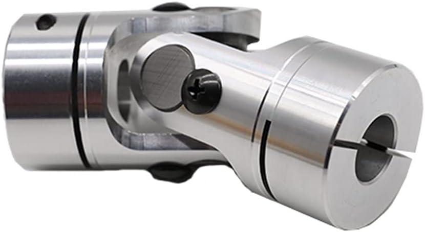 SUOFEILAIMU-PHONE CASE Metal Coupler D40 L98 Universal Coupling Precision Single Section Shaft Coupling (Inner Diameter : 7X11)
