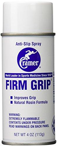 Cramer Firm Grip, Anti-Slip Grip Enhancer for Sweaty Activities Like Football, Tennis, Golf, Pole Fitness, Gymnastics, and Aerial Silks, 4 Ounce Spray