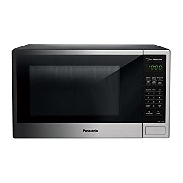 Panasonic NN-SU696S 1.3 cu. ft. Countertop Microwave Oven with Genius Cooking Sensor