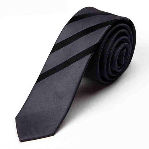 Hjyi La Corbata de Vestir de los Hombres, Moda Nano Corbata ...