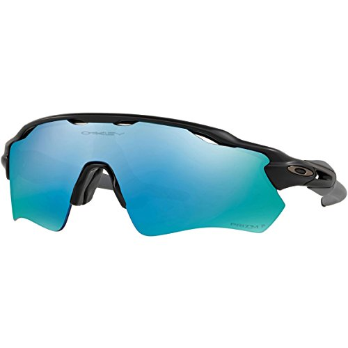 Oakley Unisex Radar EV Path Polarized Sunglasses,Black