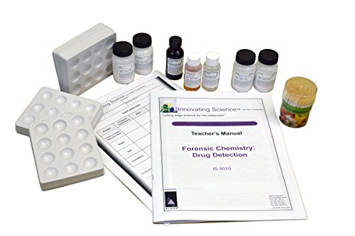 Forensic Chemistry: Drug Detection and Analysis Kit (Materials for 15 Groups)