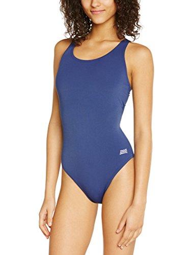 ZOGGS Cottesloe Powerback Ladies Swimsuit, Navy, 20