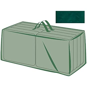 Attractive All Weather Outdoor Cushion Storage Bag, In Green