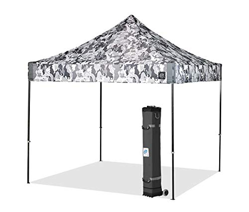 E-Z UP VG3SG10CG Vantage Instant Shelter Canopy, 10 by 10', Camo Gray, 10x10 LIMITED EDITION, - Pacific Camo
