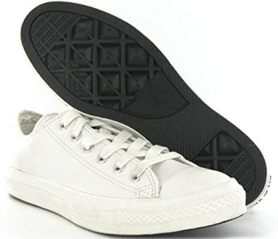 23dc3147c7067 Converse Ct All Star Perforated Leather White Mens Trainers Size 9 ...