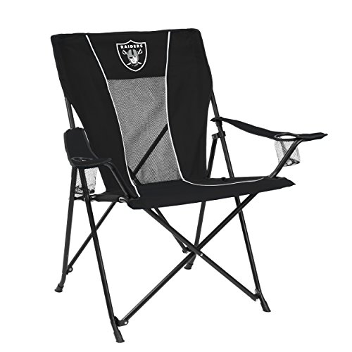 Logo Brands NFL Oakland Raiders Chair Game Time Chair
