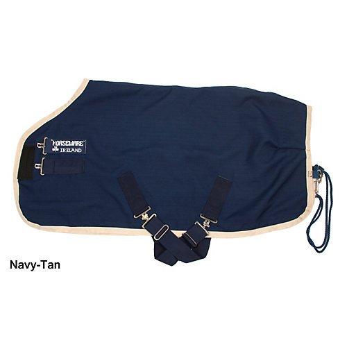 AMIGO Mio Stable Sheet 69 Navy/Tan