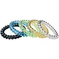 Munchables Sensory Aide Jewelry for Kids - Set of 5 - Short Stretchy Coil Bracelets