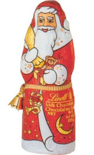 Lindt Milk Chocolate Santa (4.4 Oz)