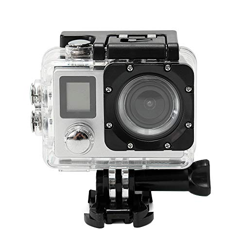 MatureGirl Sports Camera Waterproof 4K WiFi HD 1080P Sports Action Camera DVR Cam Camcorder - Shipping from USA (Silver)