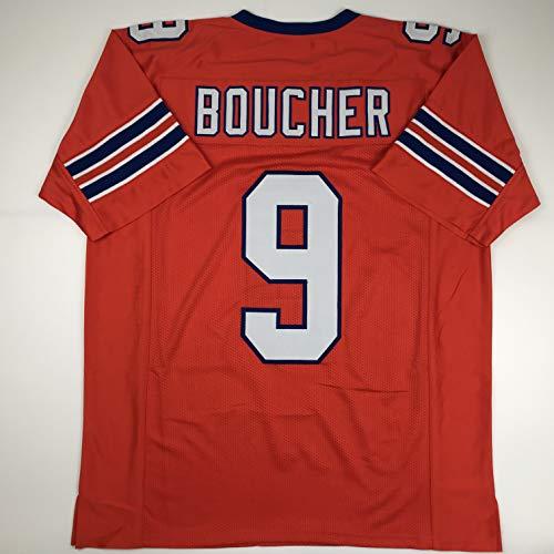 Boucher Halloween Costume (Unsigned Bobby Boucher SCLSU Mud Dogs Orange Custom Stitched Football Jersey Size Men's XL New No)