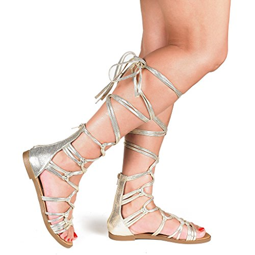 cd4377f9a08d DREAM PAIRS Gladiator Summer Sandals product image