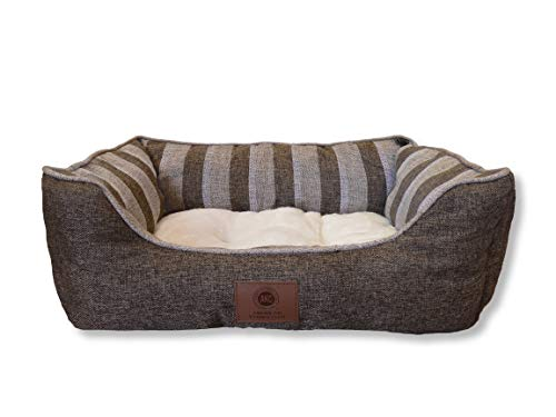 (AKC Deluxe Extra Large Pet Cuddler Dog Beds, 28