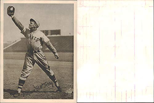 1936 National Chicle R311 Premium (Baseball) card#14 G14 Bill Terry of the New York Giants Grade Very Good
