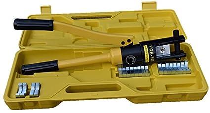 Crimpadora Hidráulica Herramienta Prensa para Cables - 10-300 mm² - Presión de Trabajo