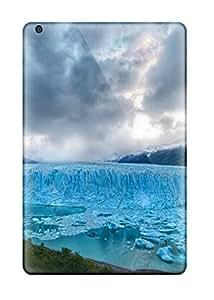 Ipad Mini Case Bumper Tpu Skin Cover For Blue Glacier Accessories