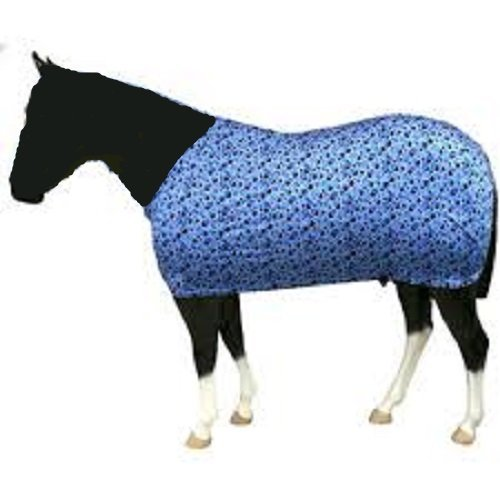 Sleazy Sleepwear Bubbles Horse Body Sheet with Rear Leg Straps and Fleece Lined Adjustable Neck (Large 78''-82'') by Sleazy Sleepwear (Image #2)