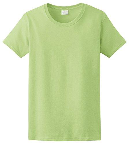 Green Ladies T-shirt (Gildan Ultra Cotton Ladies' T-Shirt, Mint Green, XX-Large)