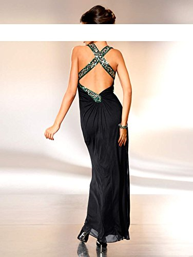 Heine - Vestido - Opaco - para mujer negro