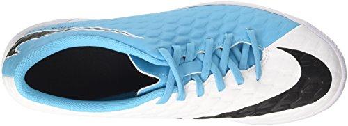 Nike Herren Hypervenomx Phade Iii IC Fußballschuhe, Elfenbein (White/Black/Photo Blue/Chlorine Blue), 40 EU
