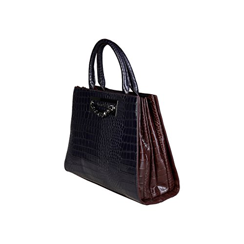Biagiotti Designer Laura Blue Women Handbag Genuine qORxEnw7p