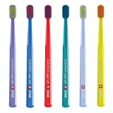 Curaprox Sensitive Supersoft Toothbrush CS 3960, 6 Pack, Colors May Vary