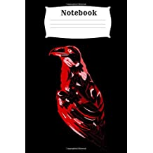 Notebook: Raven Homework Book Notepad Composition and Journal Diary