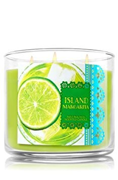 - Bath & Body Works 3-Wick Scented Candle in Island Margarita (14.5oz)