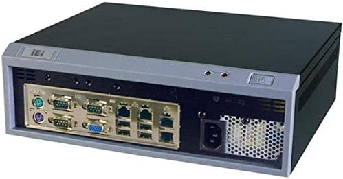 IEI Mini-ITX Embedded Chassis with ACE-A618B 180W ATX Power Supply one 3.5 Hard Drive Bay Black
