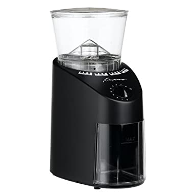 Capresso 560.01 Infinity Conical Burr, Black