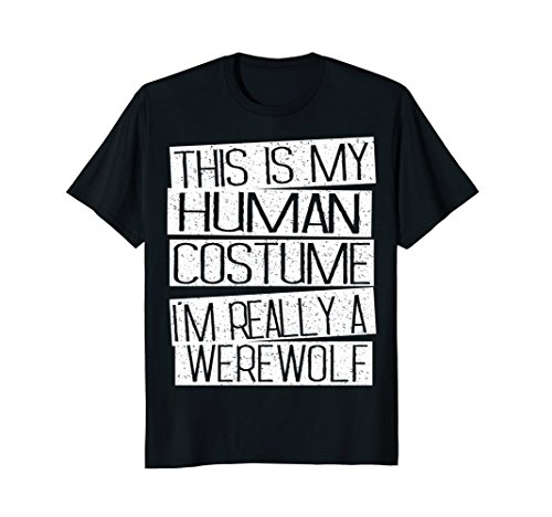 Mens Funny Halloween Costume Shirt - I'm Realy A Werewolf Shirt 3XL (Funny Family Halloween Costume Ideas)