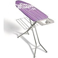 Metaltex 41804180080 Antaires Table à Repasser Métal Violet 114 x 38 cm